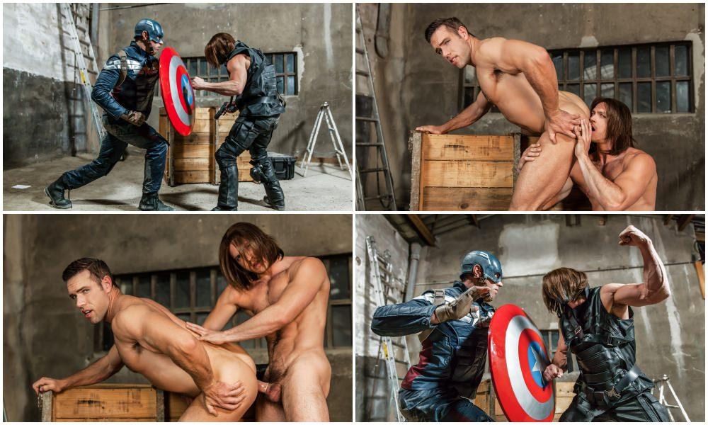 Captain america gay porn part 3