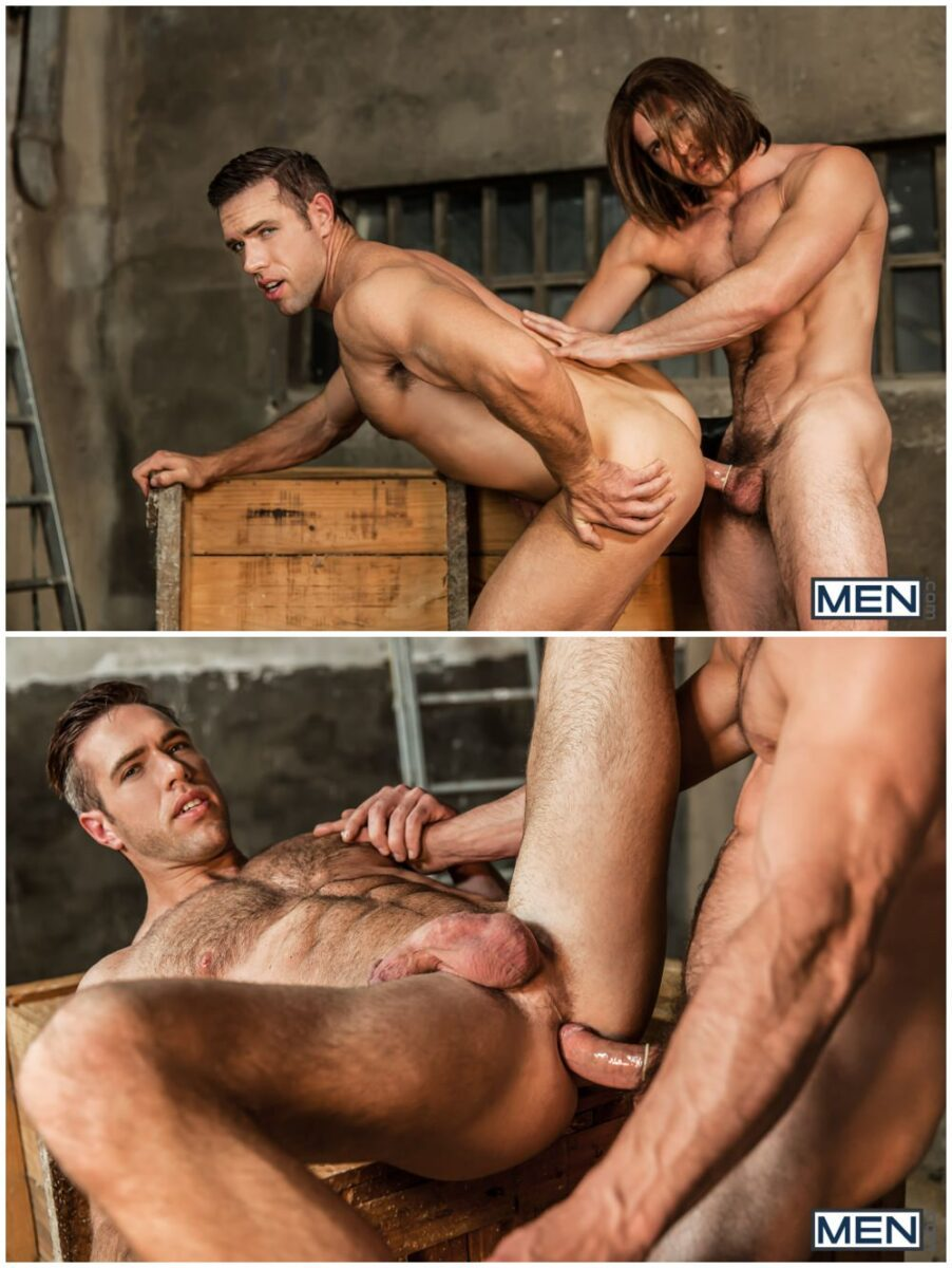 Captain America A Gay XXX Parody part 3, Paddy O'Brian fucks Alex Mecum, horny hunks anal sex, MEN.com free gay porn videos and pics.6