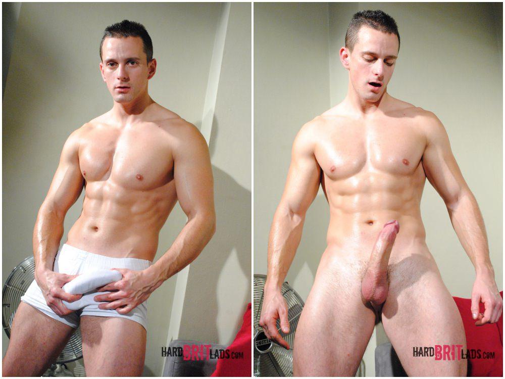 Chris Summer solo scene, hung jock jerks off big uncut cock, Hard Brit Lads xxx free gay porn.4
