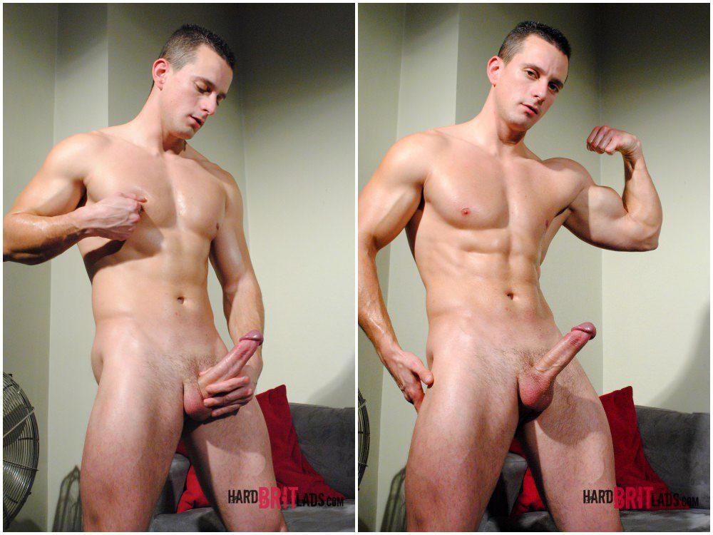Chris Summer solo scene, hung jock jerks off big uncut cock, Hard Brit Lads xxx free gay porn.5