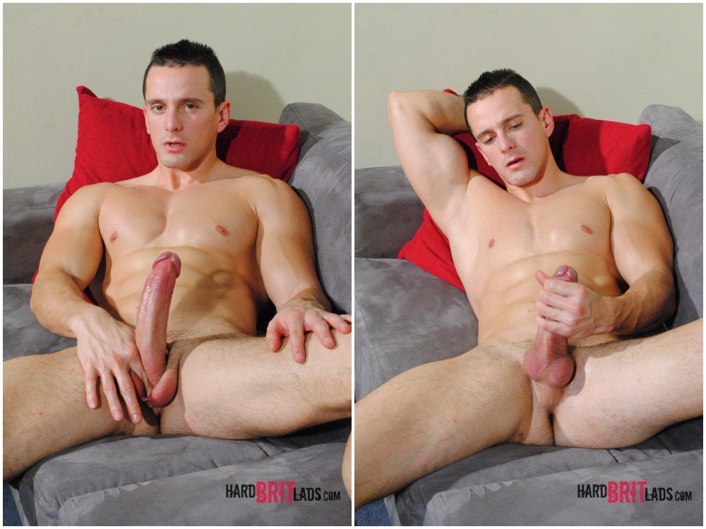 Chris Summer solo scene, hung jock jerks off big uncut cock, Hard Brit Lads xxx free gay porn.6