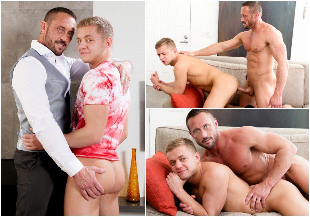 Myles Landon fucks Ian Levine, hunks on jocks, daddy & son sex, muscle men fucking anal sex, Pride Studios xxx fre egay porn videos and pics.1