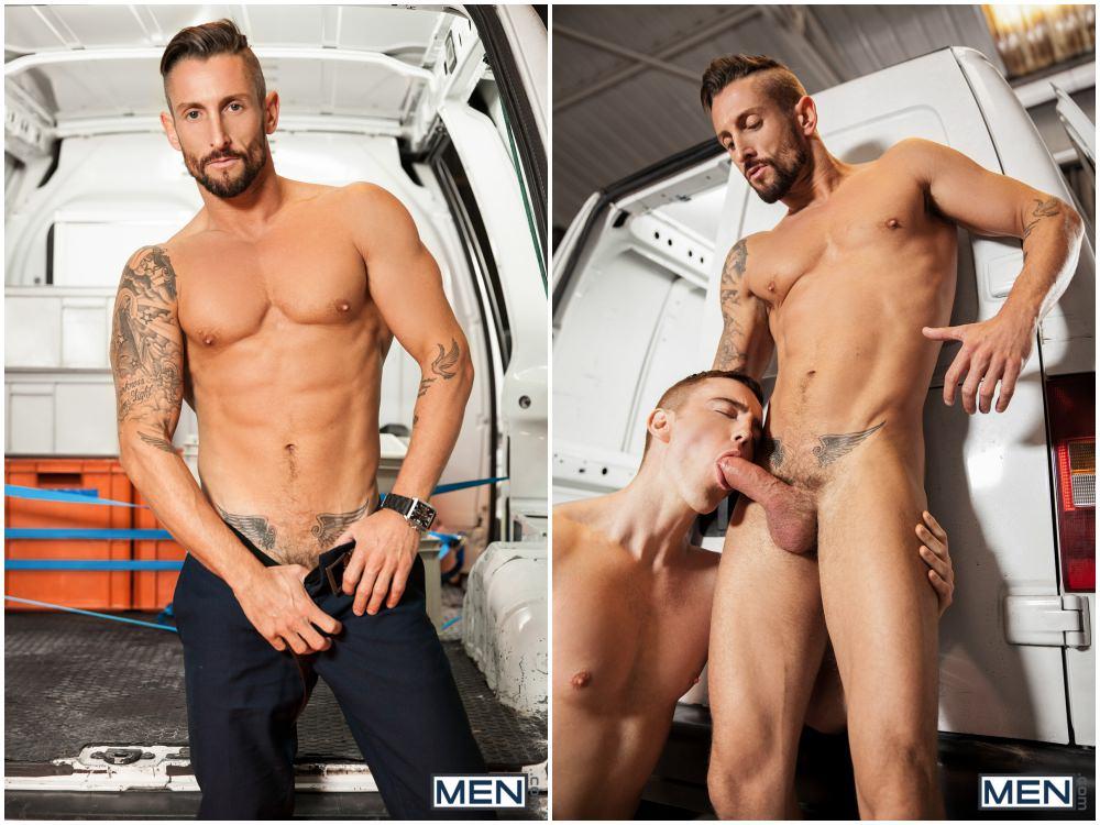 Nick North fucks JP Dubois, muscle men studs fucking jocks, MEN.com xxx free gay porn videos and pics.3