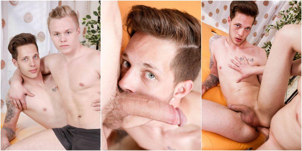 Twinks In Shorts bareback massage, Reece Andrews fucks Will Simon raw, big uncut cocks, xxx free gay porn videos and pics.2