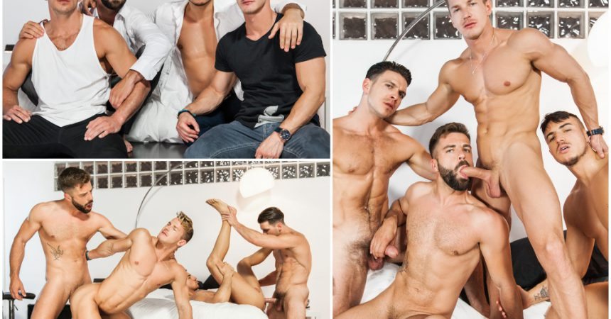 """The Weekend Away"" Fourway Group Sex Finale!"