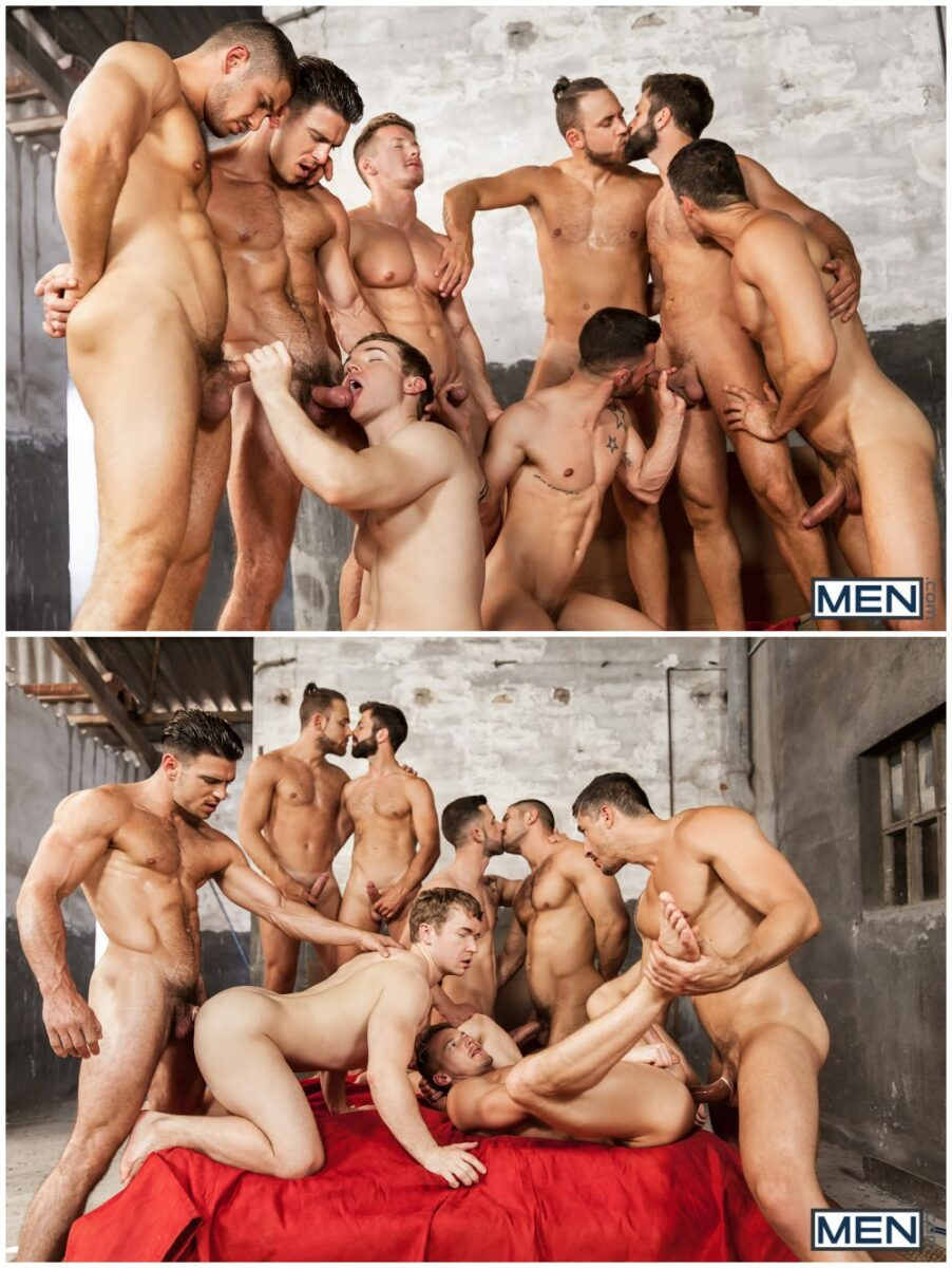 Tranny orgy red