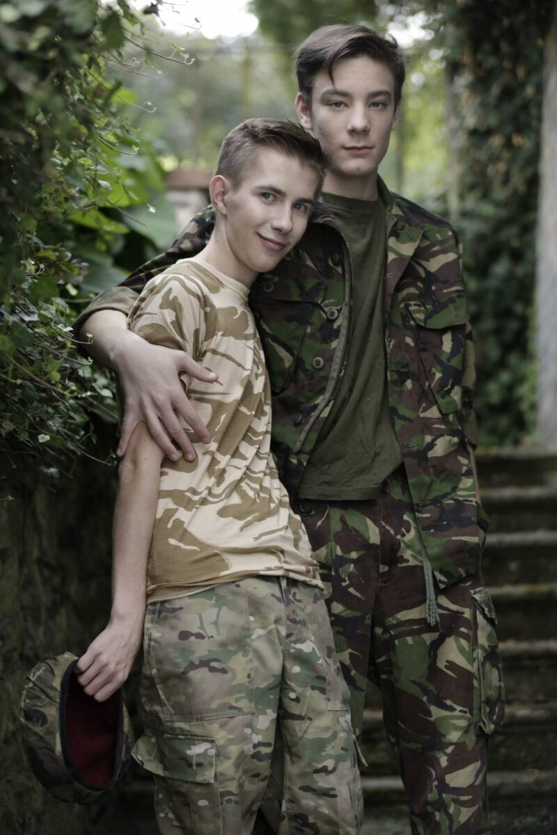 Horny soldier boys fuck bareback outdoors in army gear, uncut big dick twinks fucking raw, anal sex, Staxus xxx free gay porn videos and pics.2