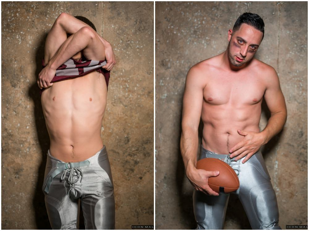 Sexy football players fucking, football kit sex, jocks kissing, Kory Houston and Andrew Fitch fuck, Icon Male xxx free gay porn videos and pics.4