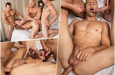 Bareback Gang-Bang For Brenner Bolton!