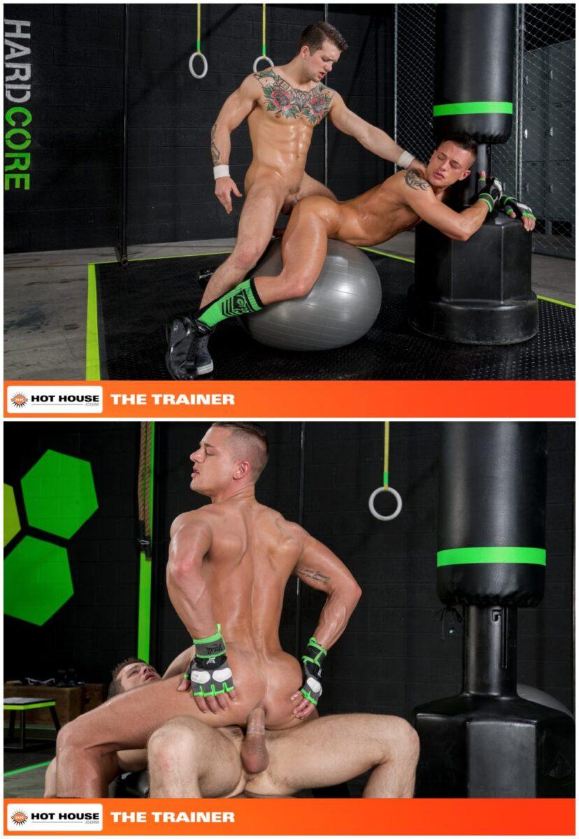 The Trainer Sebastian Kross And Rex Camero