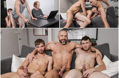 "Threeway Fuck-Fest For ""Stepdick"" Part 4"