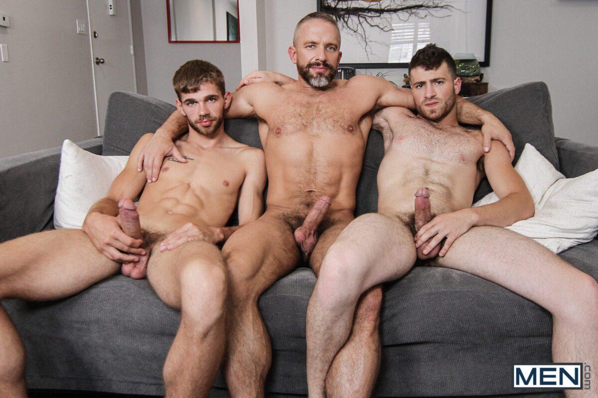 gay daddy threesome