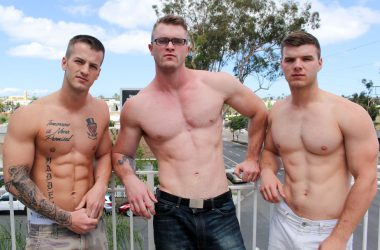 Ivan, Quentin & Scott: Bareback Threesome