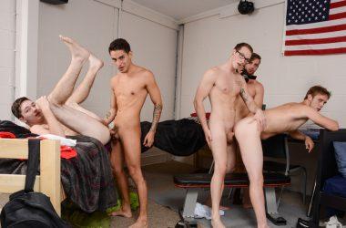 Horny Frat-Boys Orgy