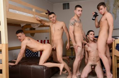 A Five-Way Frat-Boy Fuck-Fest!