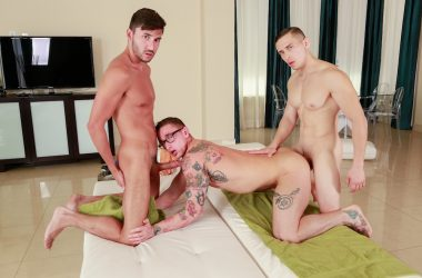 Lance Ford's Spit-Roast Threesome