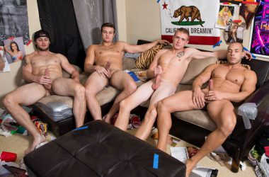 Bareback Breeding Gang-Bang!