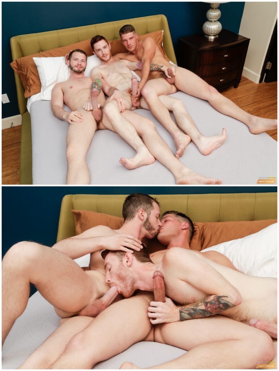Threeway double penetration