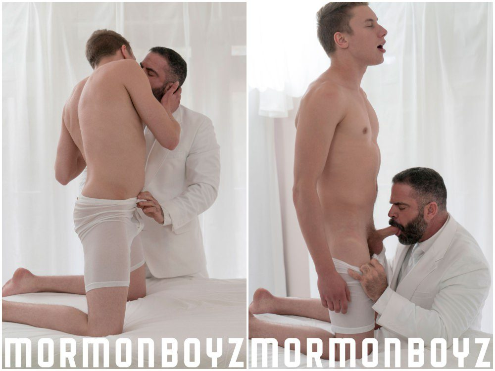Fingered Mormon Twink