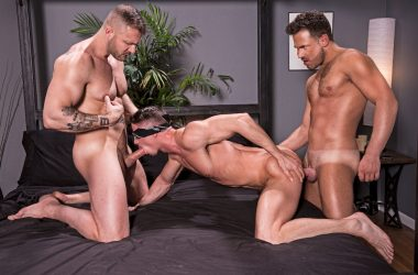 Austin, Logan, & Skyy Threesome