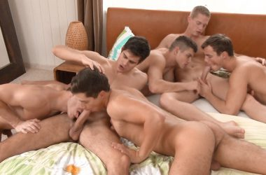 Big Dick Oral Orgy