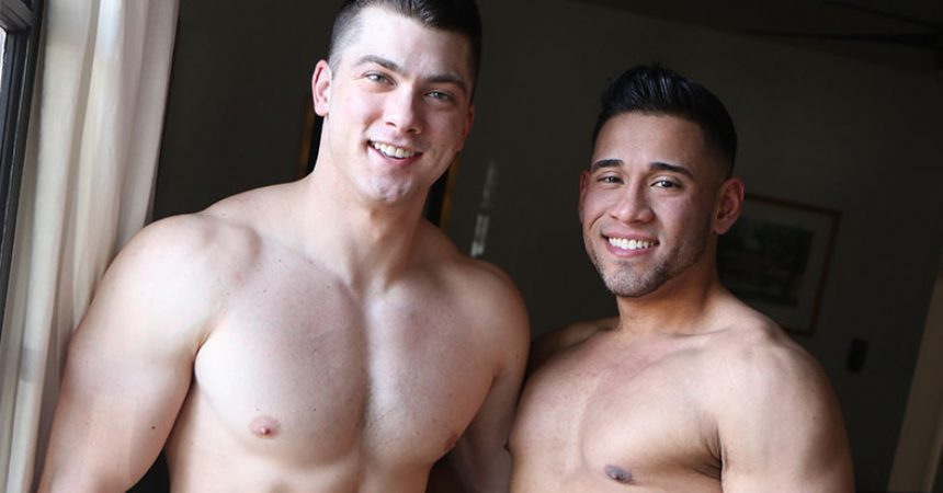 Michael Santos Tops Collin Simpson
