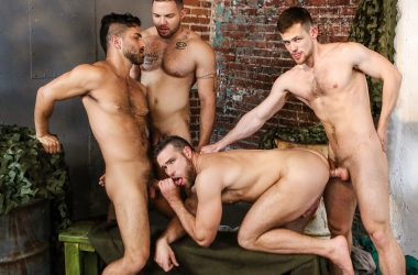 Hot Stud Foursome