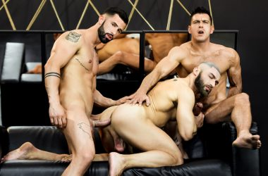 Muscle Stud Threesome