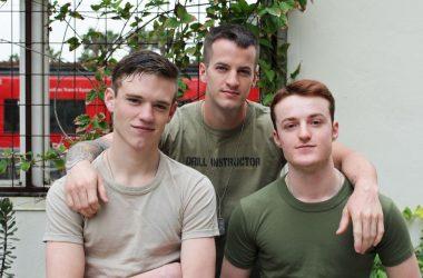 Scott, Dominic & Quentin Bareback