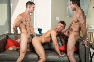 House Boy Bareback Threesome