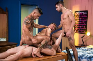 Double Penetration Foursome