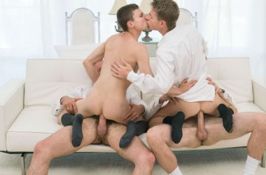 Mormon Bareback Foursome