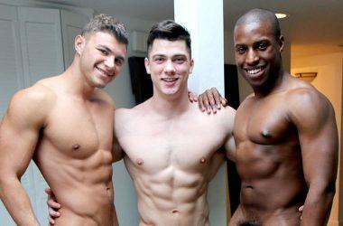 Alex, Colin & Tyler Threesome