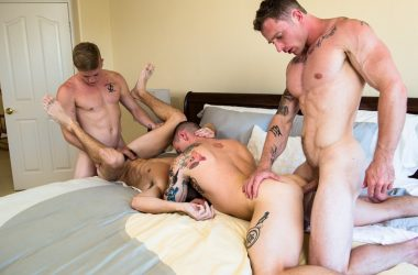 Bareback Jock Foursome