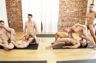 Yoga Class Orgy
