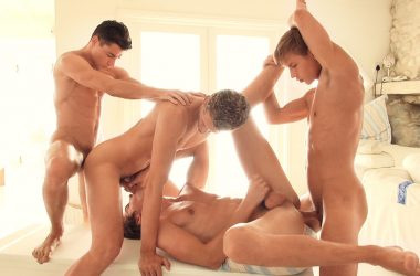 Big Dick Bareback Foursome
