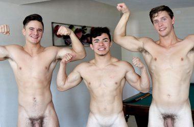 Muscle Jock Threeway