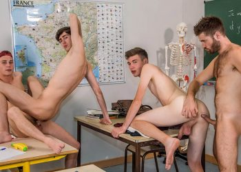 High School Orgy