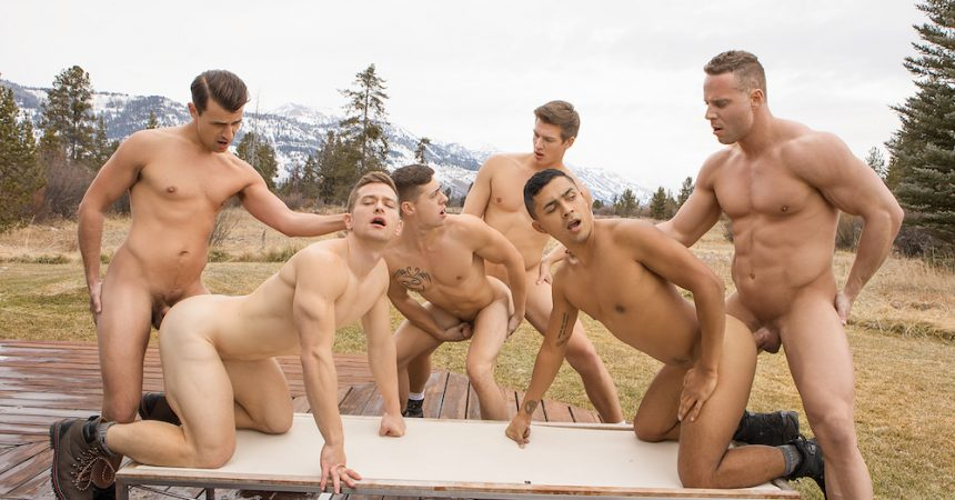 Wyoming Getaway: Outdoor Raw Orgy