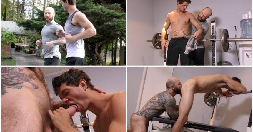 Bareback Father & Son Workout