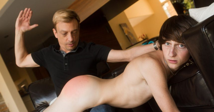 Cole Takes A Spanking