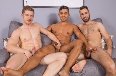 Asher, Deacon, & Hector Threeway