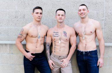 Quentin, Johnny, & Spencer Raw Threeway
