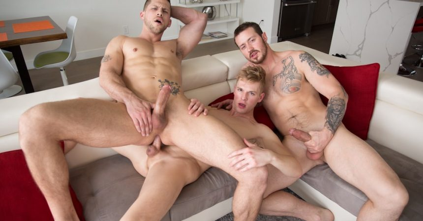 Mark , Roman, & Ty Raw Threeway