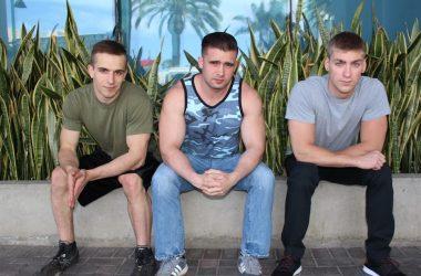Mathias, Blaine & Donte Bareback