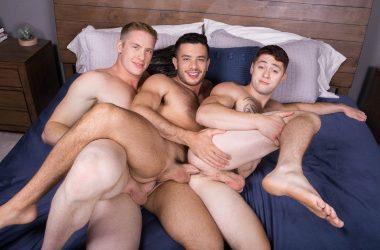 Jax, Manny & Lane Bareback