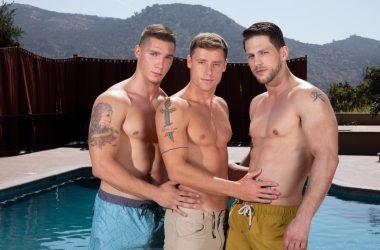 Roman, Spencer, & Justin Bareback