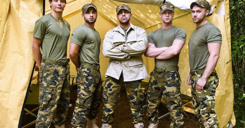 Army Boy Orgy