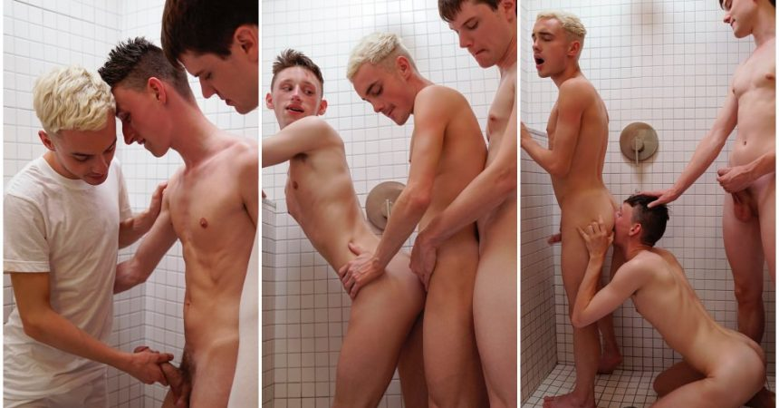 Mormon Twink Threesome