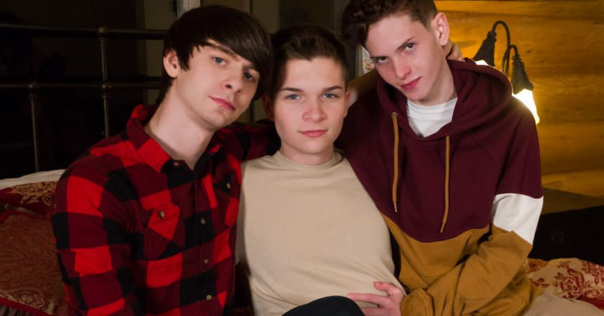 Caleb, Riley & Taylor Bareback